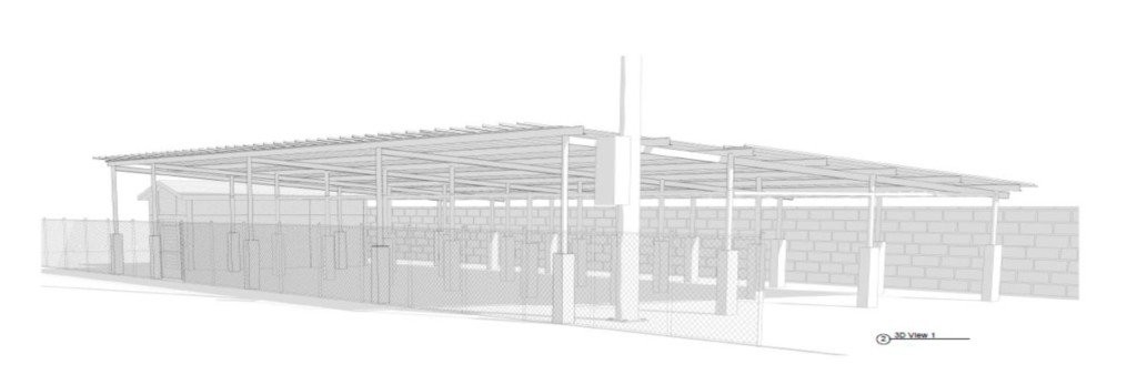 Cover the Cage rendering